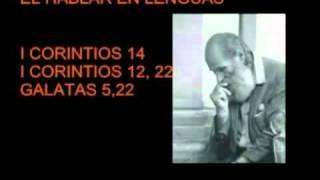 Hablar en Lenguas Extrañas, Desconocidas o Angelicales