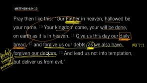 Matthew 6:9–13, Part 2 // Deliver Us From Evil