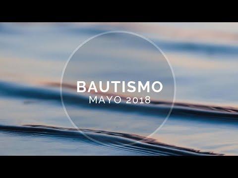 Bautismo Mayo 28  -IGLESIA BÍBLICA DEL SEÑOR JESUCRISTO