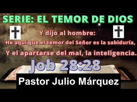 PERFECCIONANDO LA SANTIDAD EN EL TEMOR DE DIOS - Predicaciones, - Chuy Olivares