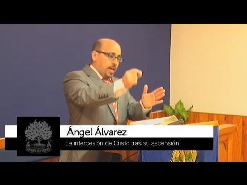 La intercesión de Cristo tras su ascensión - Ángel Álvarez