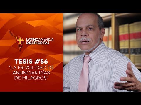 Miguel Núñez - La frivolidad de anunciar días de milagros - Tesis -56