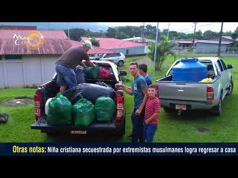 En una tierra llena de adultos mayores iglesias salen a dar alivio en Costa Rica