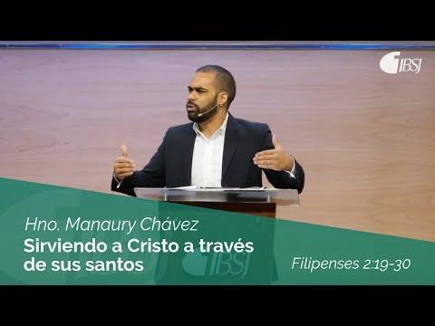 Manaury Chávez - Sirviendo a Cristo a través de sus santos