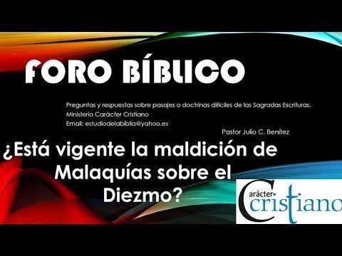 Programa 19 - Pregunta Está vigente la maldición de Malaquías