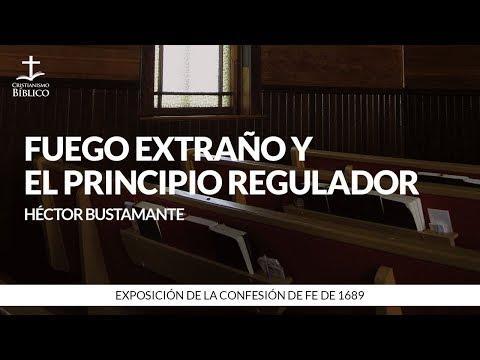 Héctor Bustamante - Fuego extraño y el principio regulador