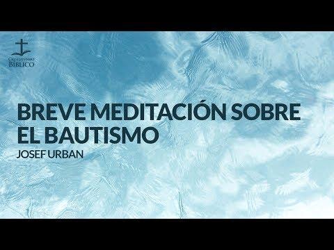 Josef Urban - Breve meditacion sobre el bautismo -  Mateo 28.18-19