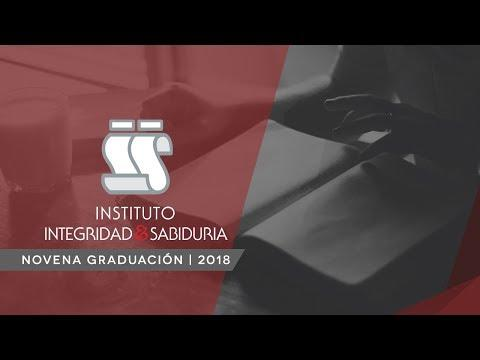 Novena graduación del Instituto Integridad&Sabiduría - Enero 10, 2018