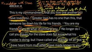 John 15:12–15, Part 3 // We Are Friends, Not Slaves