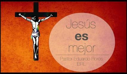 Jesús es mejor, por lo tanto, soportemos Su Palabra (Hebreos 13:22). Pastor Eduardo Flores