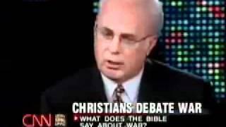 Larry King CNN  ¿Qué hace Jesús por la guerra? -  ( John Macarthur )