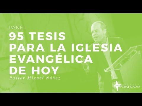 """""""95 tesis para la iglesia evangélica de hoy"""" - Panel"""