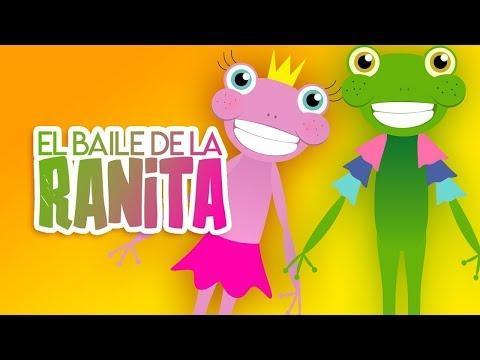 Canciones Infantiles Cristianas  - El Baile De La Ranita