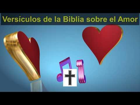 Versículos de la Biblia sobre amor - Video