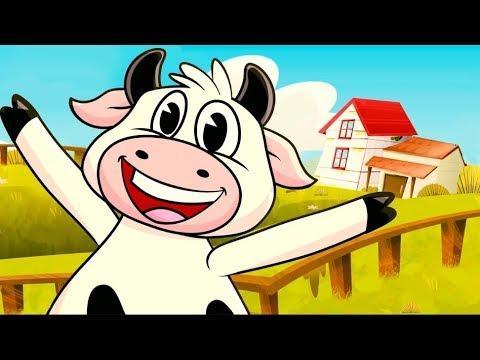 Canciones Infantiles   - La Vaca Lola ( Bailando )