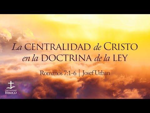 Josef Urban / La centralidad de Cristo en la doctrina de la ley / Romanos 7:1-6