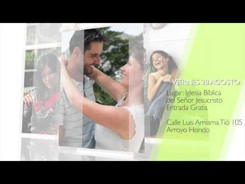 """Promo charla : """"El Romance y el Sexo en el matrimonio"""" con el Pastor - Eduardo Saladin"""