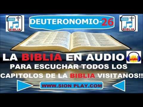La Biblia Audio (Deuteronomio 26)