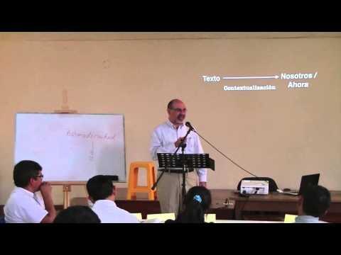La Teología Bíblica 01 :  La Predicación Expositiva Introducción