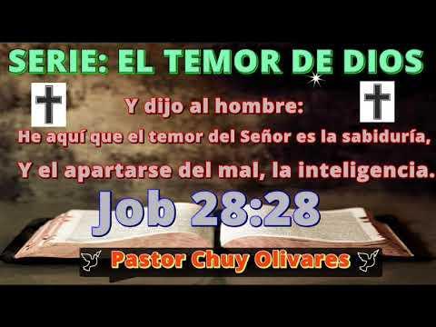 EL TEMOR POR SU PALABRA - Predicaciones, estudios bíblicos - Pastor Chuy Olivares