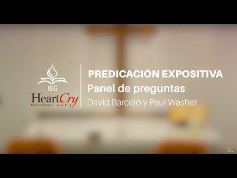 David Barceló & Paul Washer - Panel: Predicación Expositiva