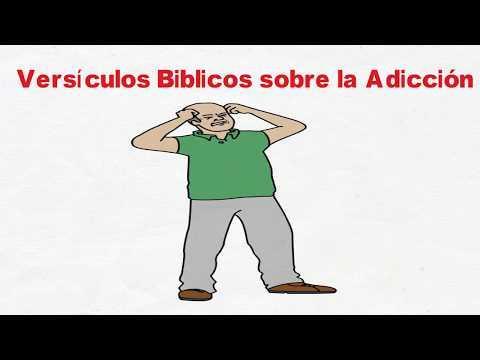 Versículos de la Biblia sobre la Adicción