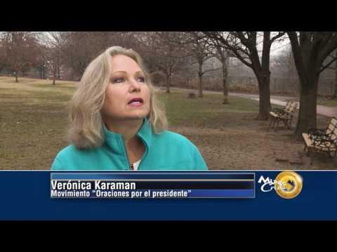 Verónica Karaman está dirigiendo Movimiento de oración por Donald Trump