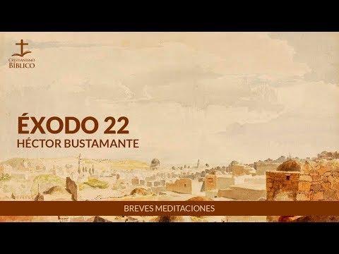 Héctor Bustamante - Breve meditación de Éxodo 22