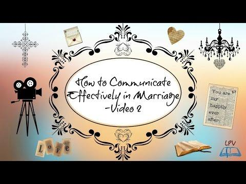 How To Communicate Effectively In Marriage - Video 2 - - Kaynee Correoso