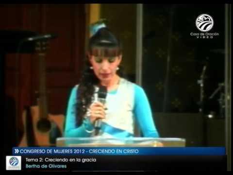Creciendo en la gracia - Bertha de Olivares
