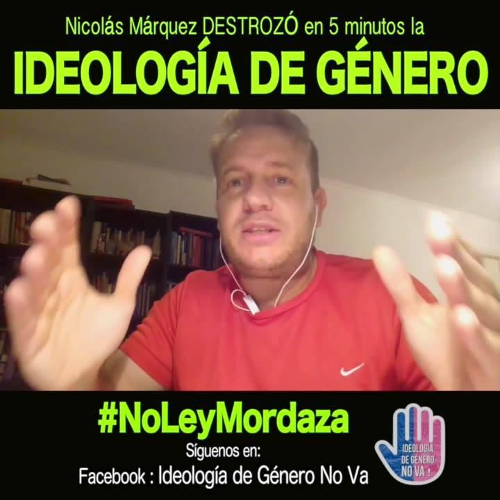 La HOMOFOBIA no existe es un término POLÍTICO, - Nicolás Marqués