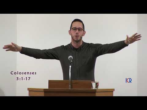Gabriel Reyes Ordeix - Cristo es todo - Colosenses 3:1-17