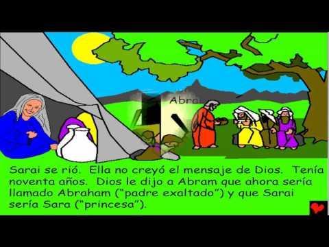 La Promesa De Dios Para Con Abraham - Historias Bíblicas Para Niños -  Antiguo Testamento T