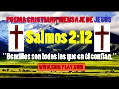 MENSAJE DE JESÚS Poema Cristiana