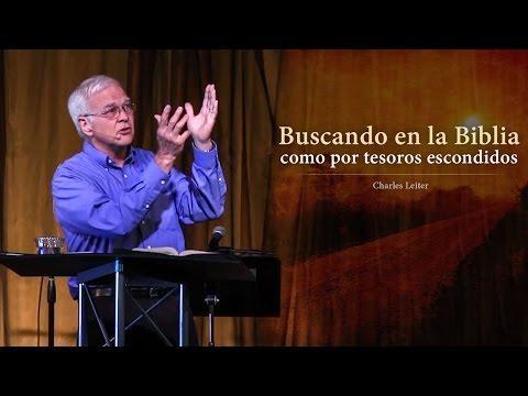 Charles Leiter - Buscando en la Biblia como por tesoros escondidos