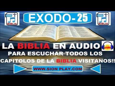 La Biblia Audio(Exodo-25)