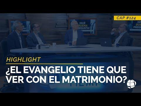 ¿El Evangelio tiene que ver con el Matrimonio?