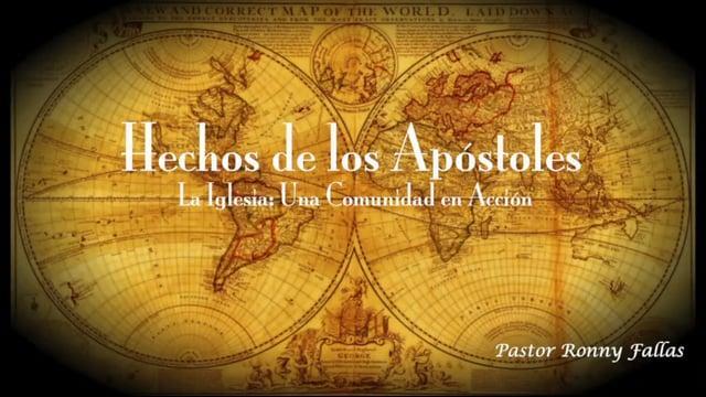 Ronny Fallas - La iglesia somos los discípulos de Jesús, bautizados en Su Nombre y sellados por Su E