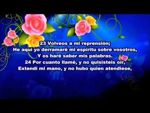 Proverbios 1  - De La Biblia [En Español] [Letras]
