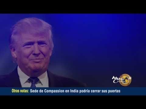 Donald Trump Presidente deja claro los planes que tiene para los evangélicos