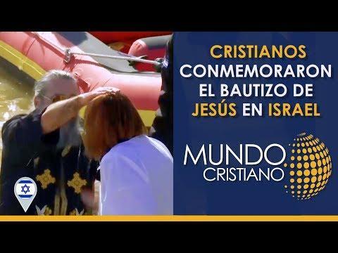 Noticias Cristianas  - A orillas del río Jordán, cristianos conmemoran bautizo de Jesucristo