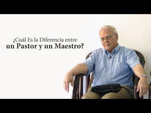 Charles Leiter - ¿Cuál Es la Diferencia entre un Pastor y un Maestro?