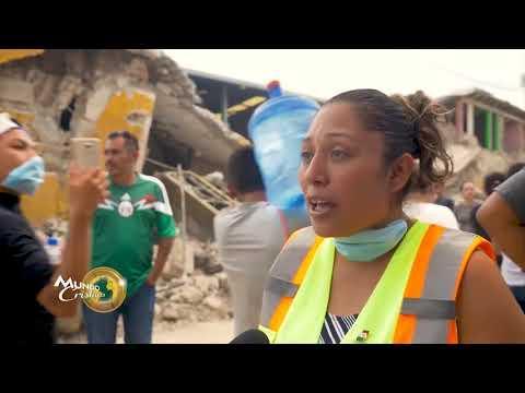 Sobreviviente del terremoto en México comparte video del momento de terror que vivió