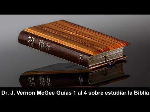Guías 1 al 4 sobre estudiar la Biblia - Dr  J  Vernon McGee