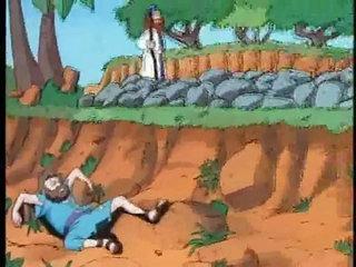 El buen samaritano  para niños - Mi Pequeña Biblia Capitulo 12